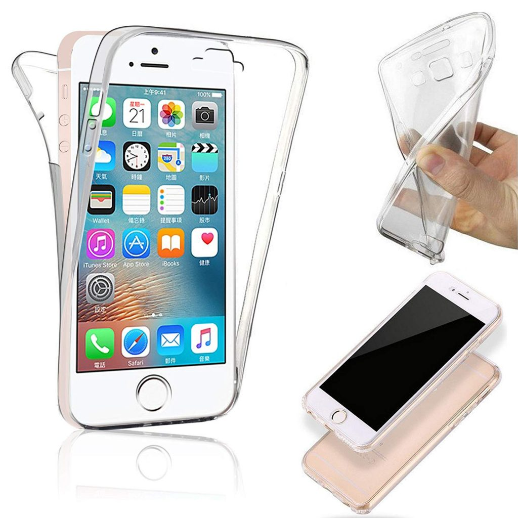 coque iPhone 5 silicone transparent NEW'C