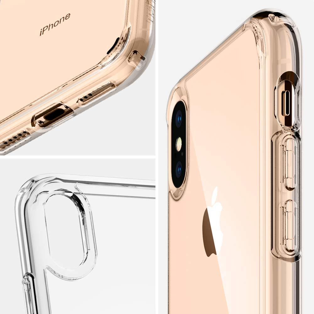 coque iPhone X Spigen transparente