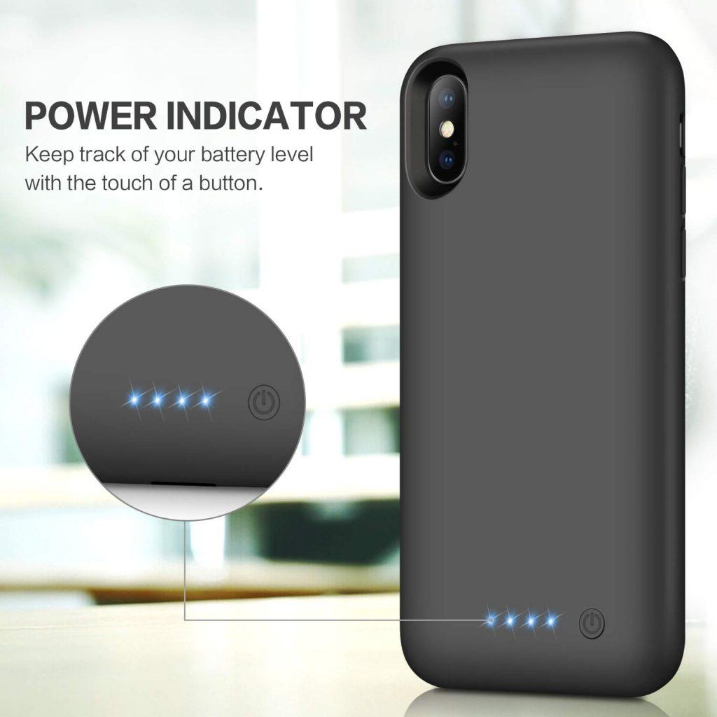 coque iPhone X batterie intégrée Kilponen