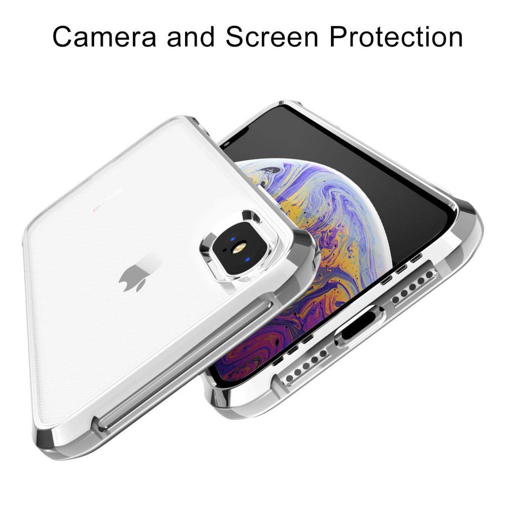coque iPhone X en silicone transparent Garegce 1024x1024