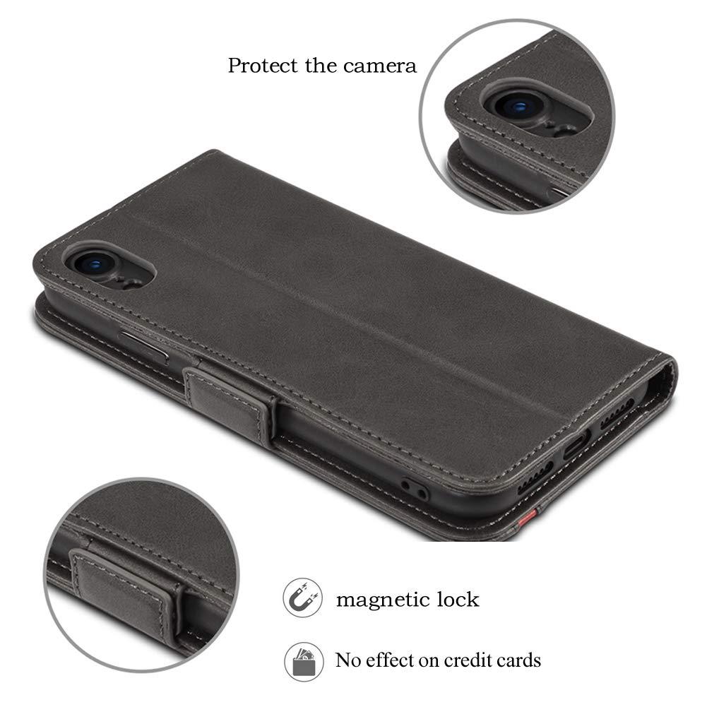 coque pour iPhone XR en cuir Rssviss